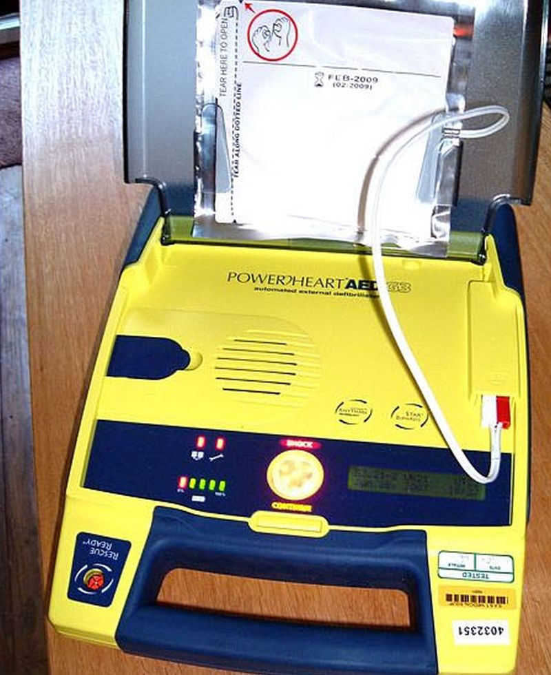 Just 17 U.S. States Require Defibrillators in Some Schools