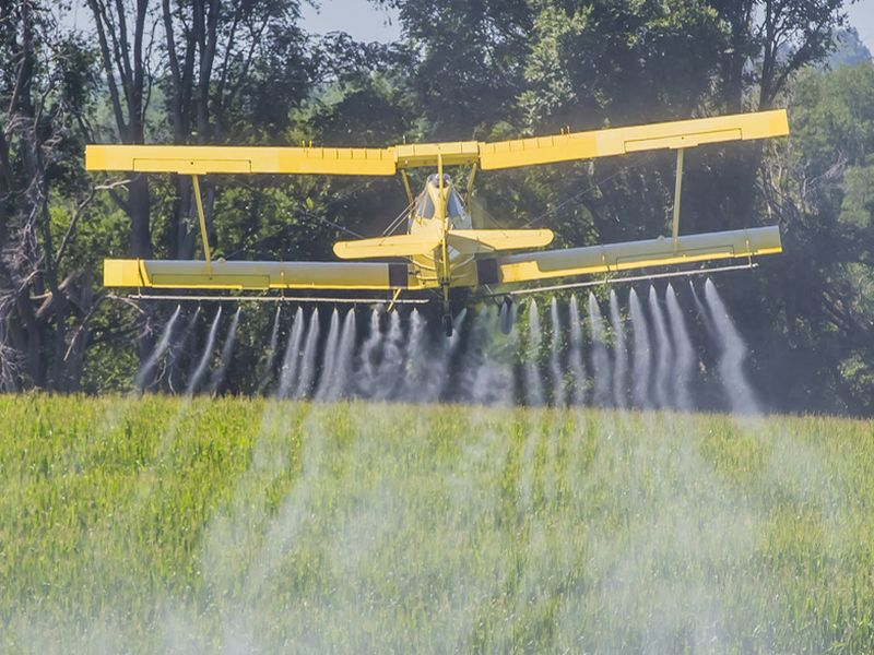 News Picture: Study Suggests Aerial Pesticide Spraying Tied to Higher Autism Rates