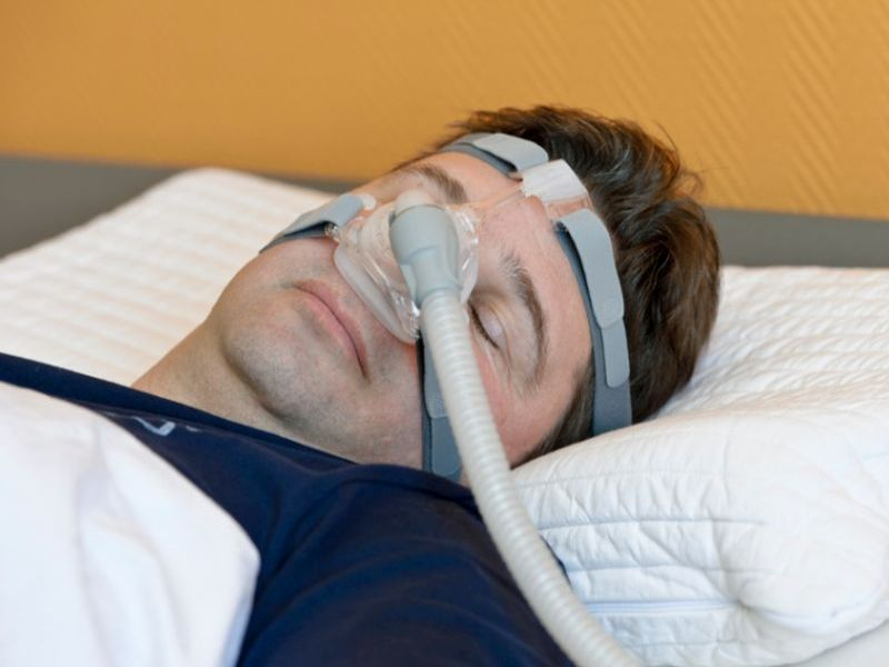 CPAP Mask Not a Prescription for Heart Troubles