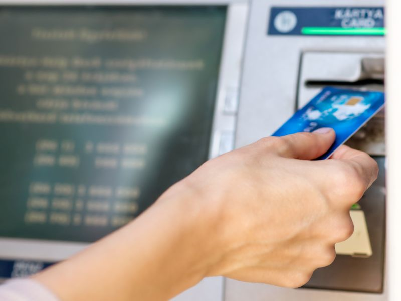 ATMs are covered in germs