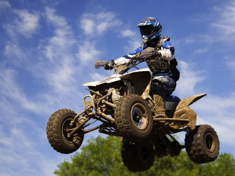 News Picture: ATV Accidents Can Cause Serious Chest Injuries in Kids