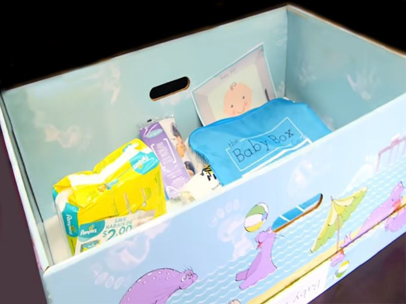 News Picture: Experts Sound Warning About 'Baby Boxes'