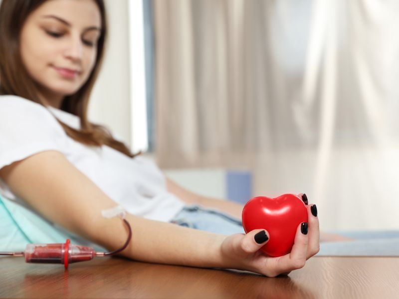 Teens Can Donate Blood, But May Need Iron Supplements After