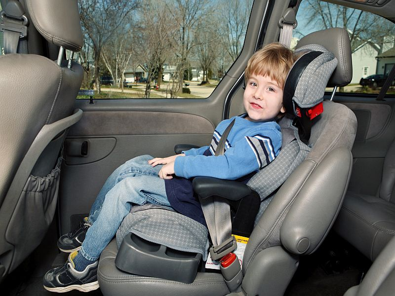 News Picture: 1 in 5 U.S. Kids Killed in Crashes Not Restrained Properly