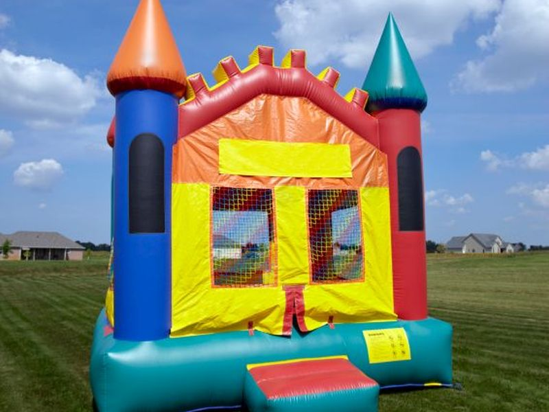 News Picture: Sky-High Temperatures Inside 'Bounce Houses'