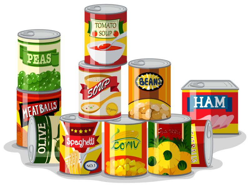 News Picture: Some Uncanny Facts About Canned Foods