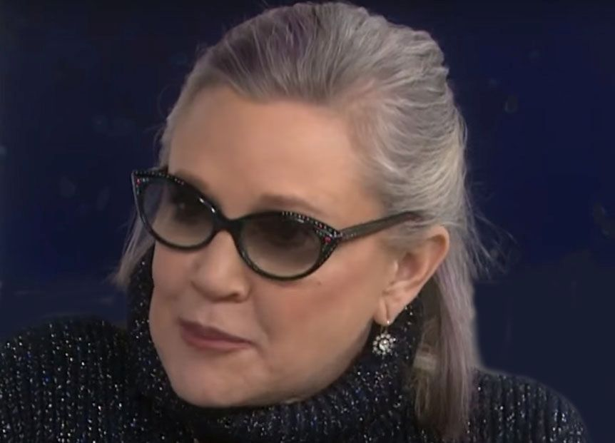 News Picture: Cocaine, Other Drugs Detected in Carrie Fisher's System After Her Death