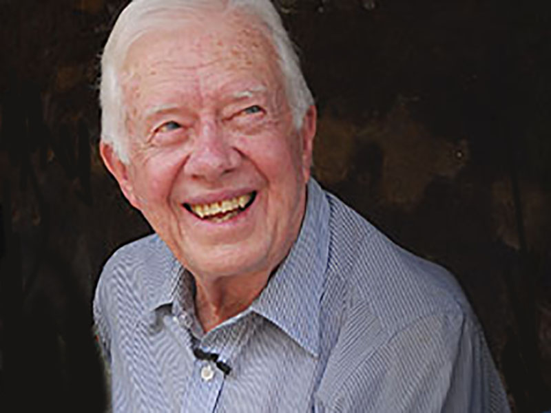 Jimmy Carter Recovering From Broken Pelvis After Fall