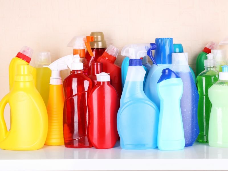 As Coronavirus Fears Surge, Keep Cleaning Products Away From Children