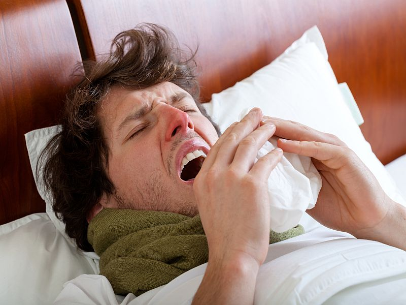 Why the Flu Makes You Feel So Miserable