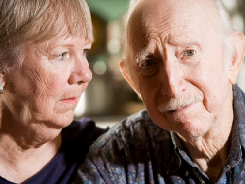 Stress of Caring for Sick Spouse May Raise Stroke Risk