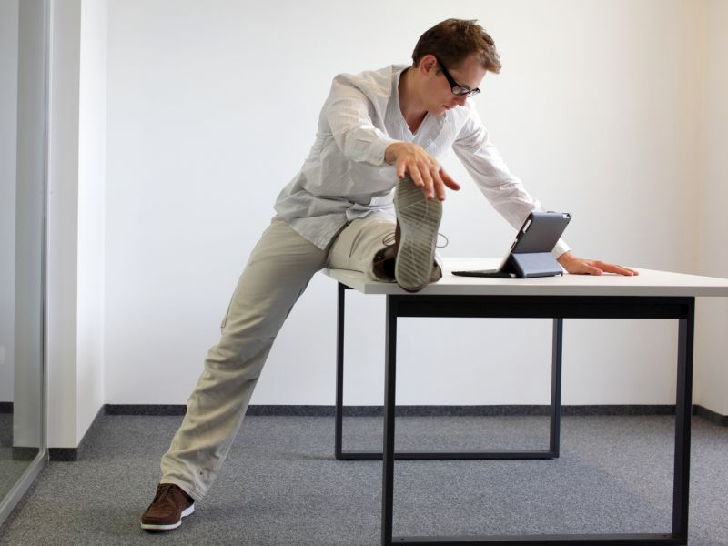 Can't Get to the Gym? Work Out in Your Office!