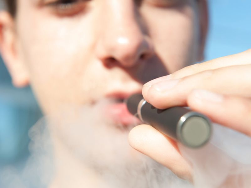 E-Cig Ads May Prompt Teens to Take Up Tobacco Too