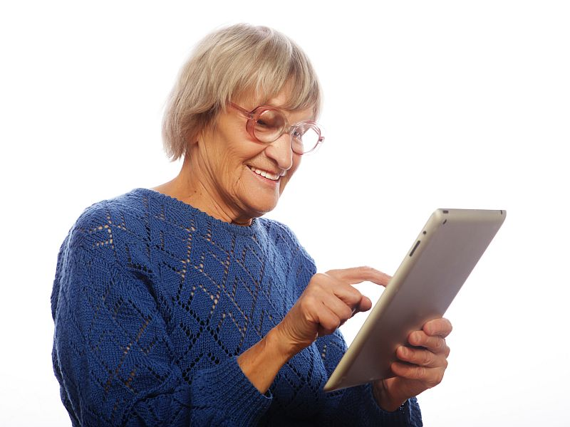 Image result for elderly ipad program