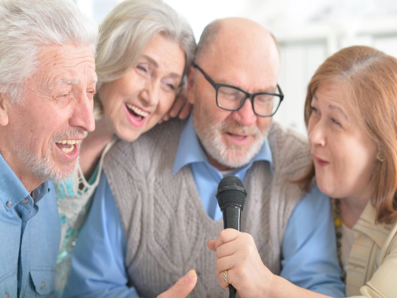 Singing May Be Good Medicine for Parkinson's  Patients