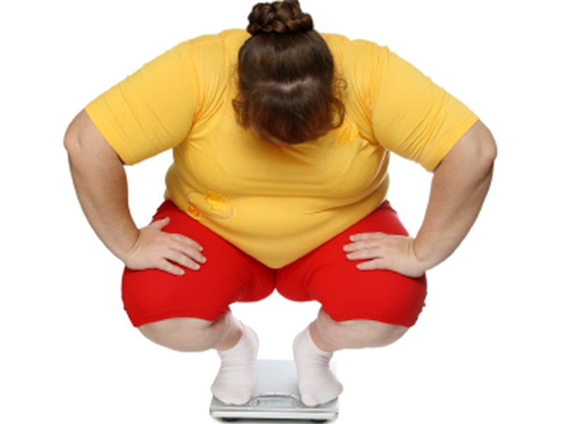 Obese Young Adults Prone to Binging, Purging