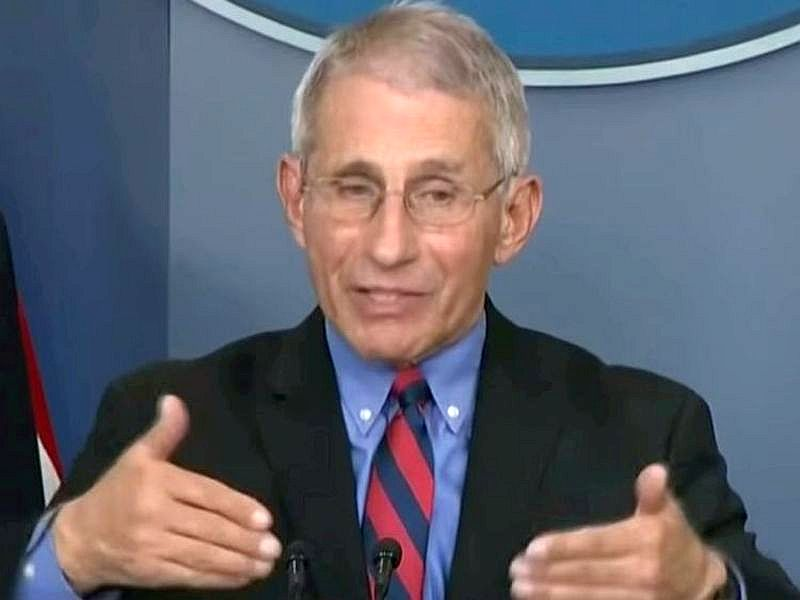 Fauci `Cautiously Optimistic` for COVID-19 Vaccine by Year`s End