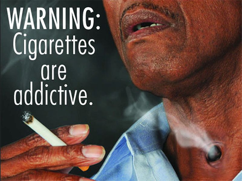 News Picture: Graphic Warnings on Cigarettes Help Smokers Consider Quitting