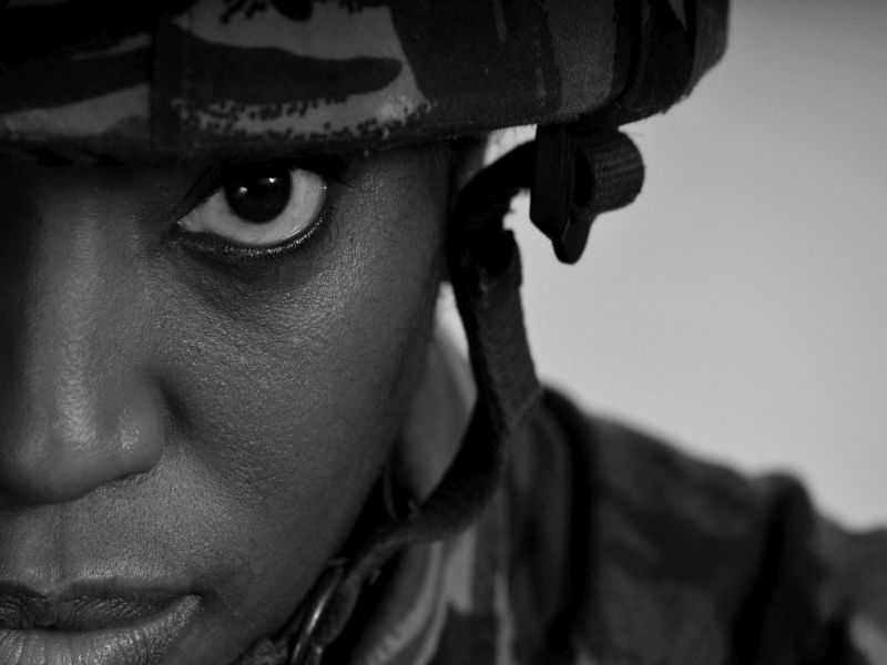 PTSD Can Take Heavy Toll on Hearts of Female Vets