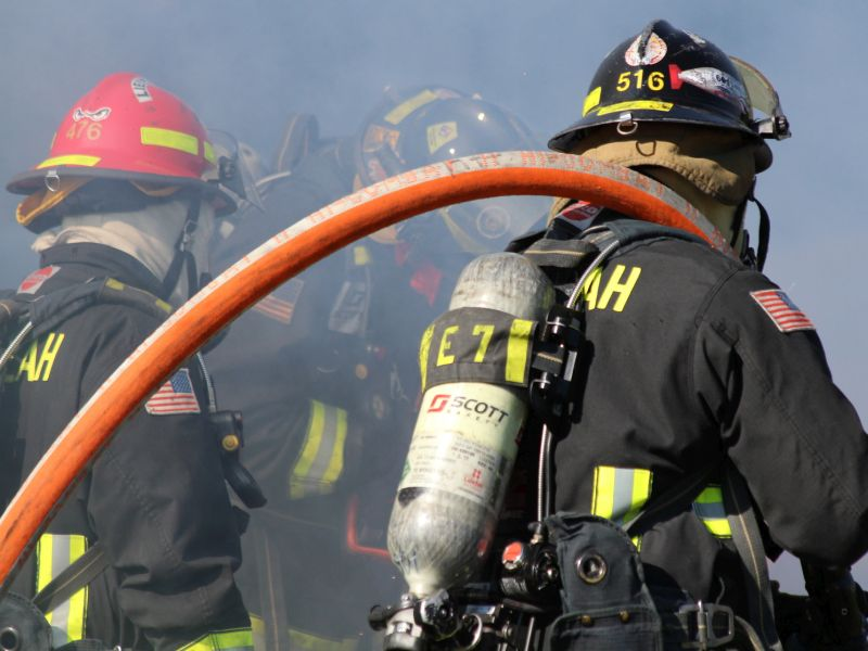 Firefighters Exposed to Carcinogens Through the Skin