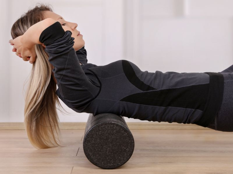 Say Yes to Foam Roller Workouts