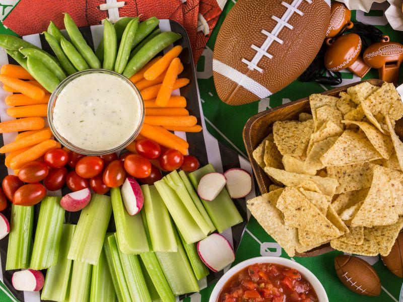Smarter Snacks for Football Fans