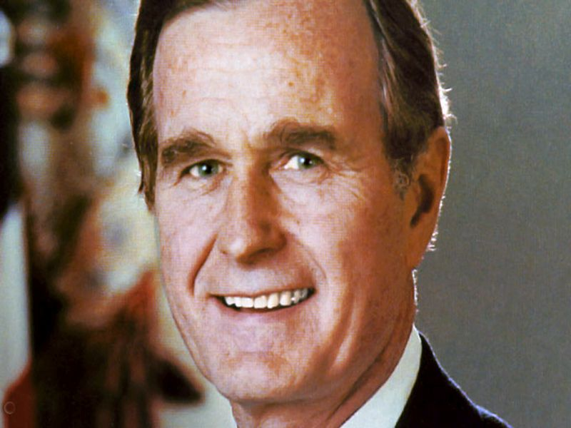 News Picture: Former President George H.W. Bush Dies at 94