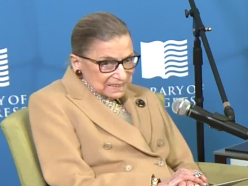 Justice Ruth Bader Ginsburg Treated for Pancreatic Cancer