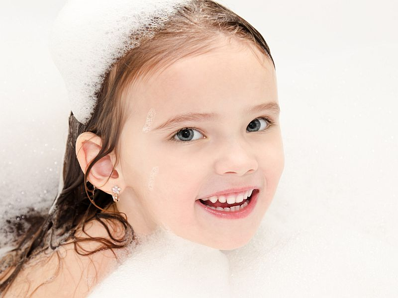 Could Soaps, Shampoos Be Pushing Girls Into Early Puberty?