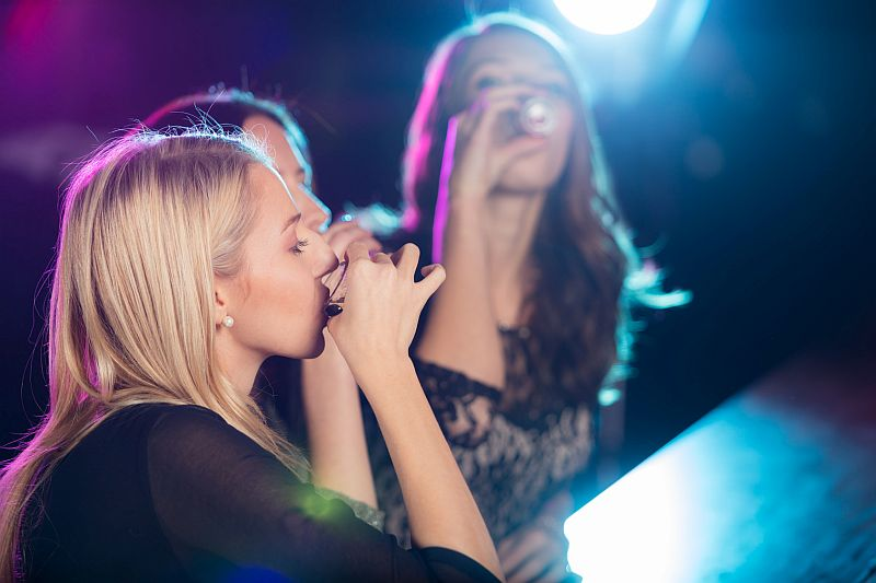 Women reaching equality in dubious habit: Drinking