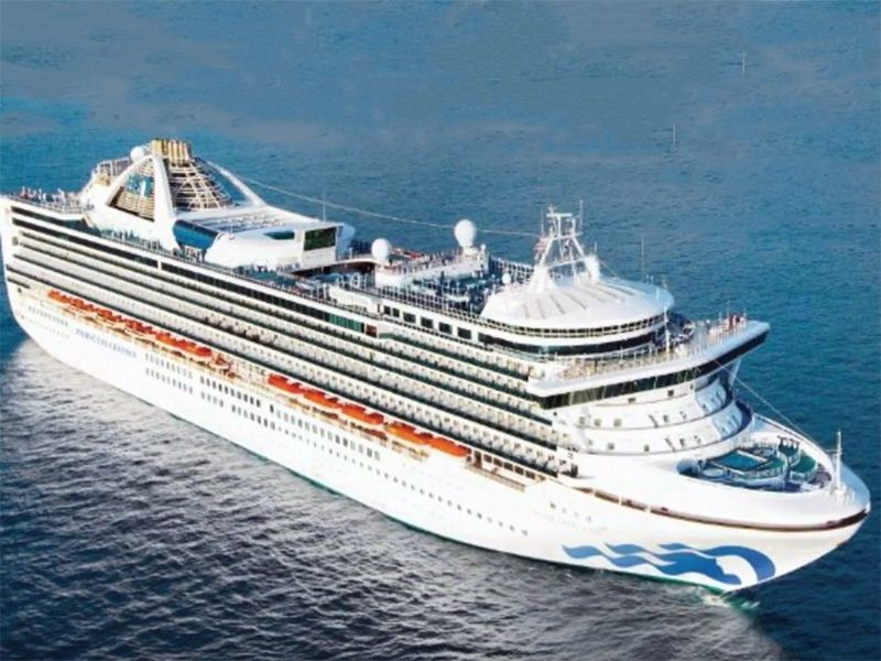 News Picture: As U.S. Coronavirus Cases Pass 500, California Cruise Ship Prepares to Dock for Tests, Quarantines