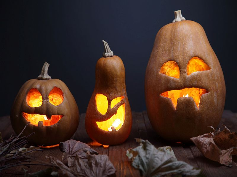 Carve the Pumpkin, Not Your Hand