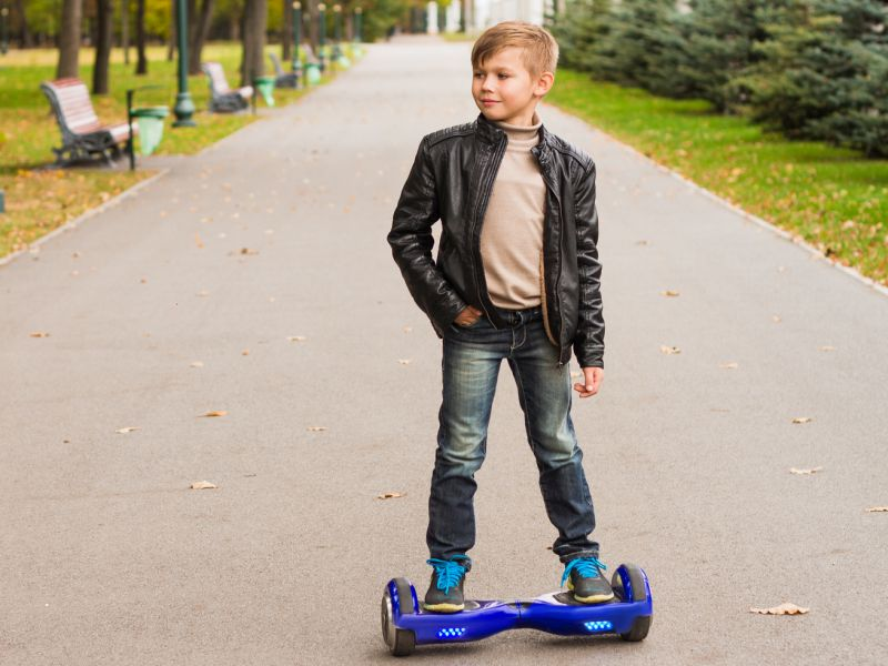Hoverboard Injuries Speeding U.S. Kids to the ER
