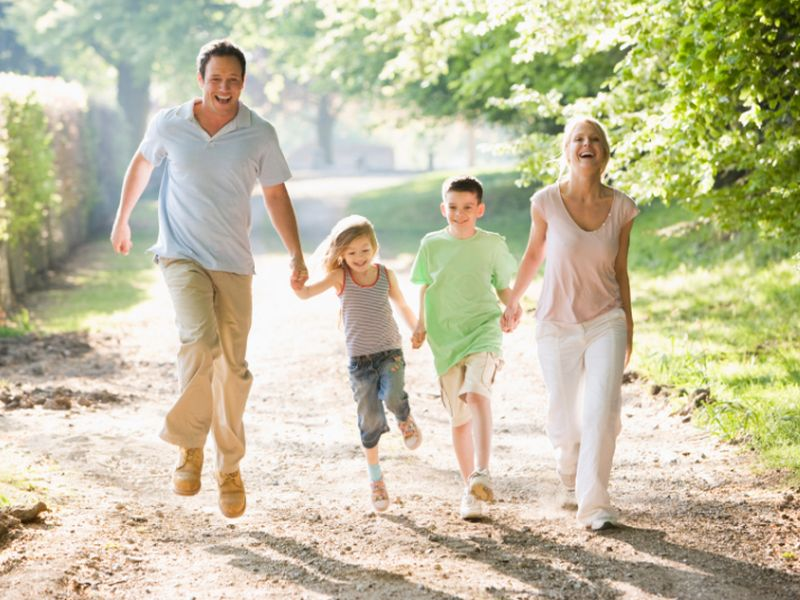 Spring a Good Time to Instill Healthy Habits in Kids
