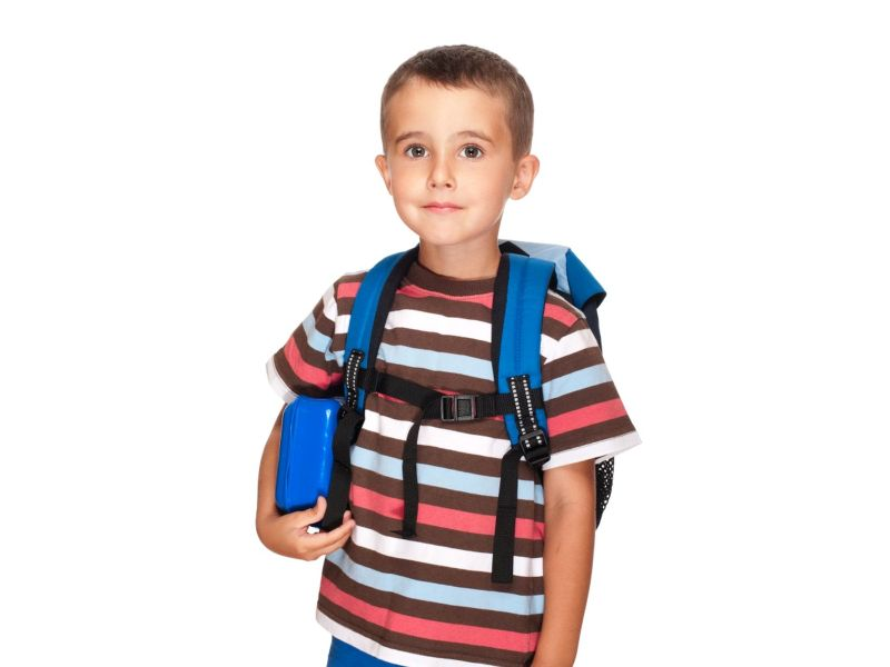 News Picture: Take the Back Pain Out of Backpacks