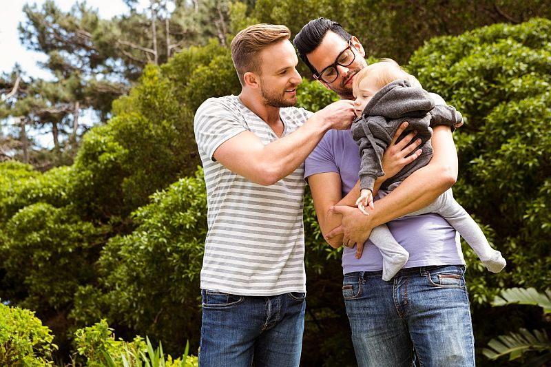 News Picture: Having Same-Sex Parents Won't Affect Kids' Gender Identity: Study