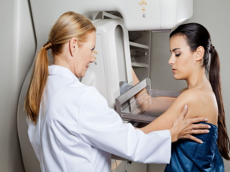 News Picture: Study Supports Annual Mammograms Starting at Age 40