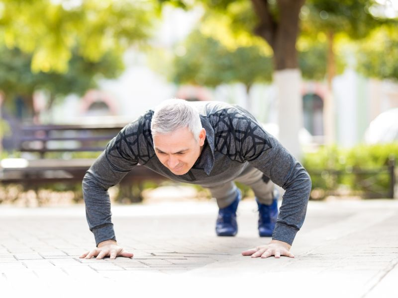Guys, Can You Do 40 Push-Ups? Heart-Healthy Life May Be Yours
