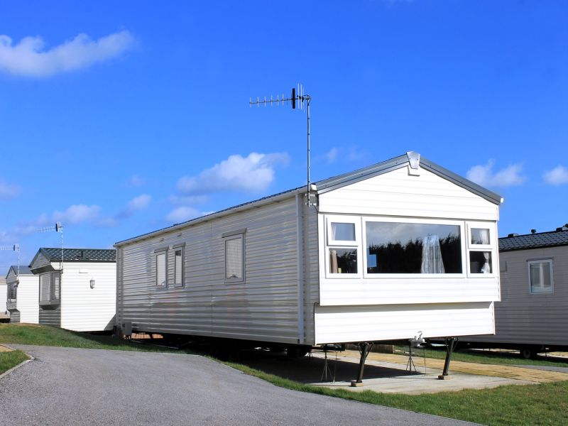 News Picture: Climate Change Could Be Catastrophic for Mobile Homes: Study