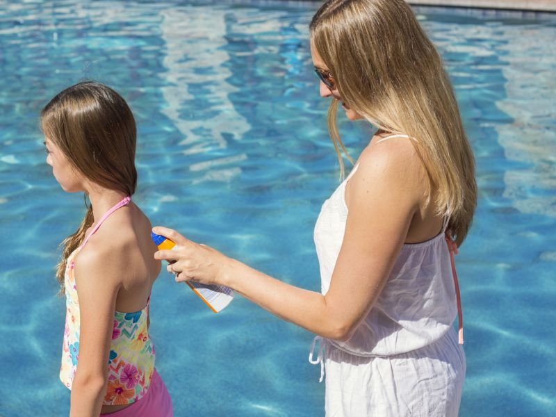 Kids' Sun Safety Means 'Slip, Slap, Slop'