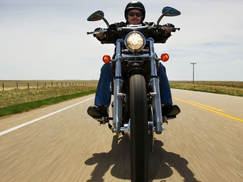 U.S. Motorcycle Deaths Up 10 Percent in Last Year