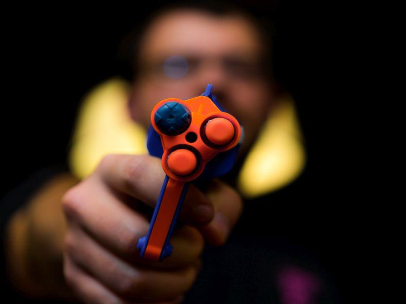 Doctors Eye the Danger From 'Nerf' Guns