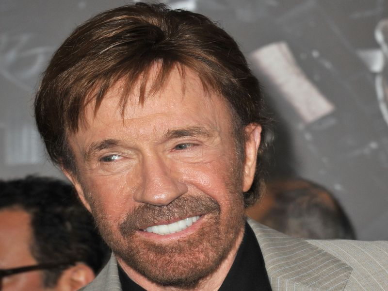 News Picture: Chuck Norris Says MRI Dye Harmed Wife's Brain, But Study Finds No Link