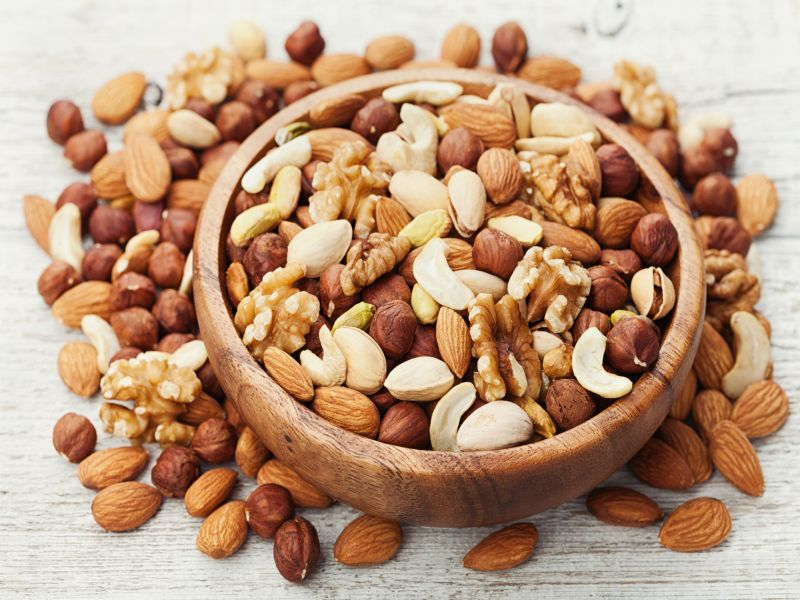 News Picture: Nuts! Good Medicine for Colon Cancer Survivors?