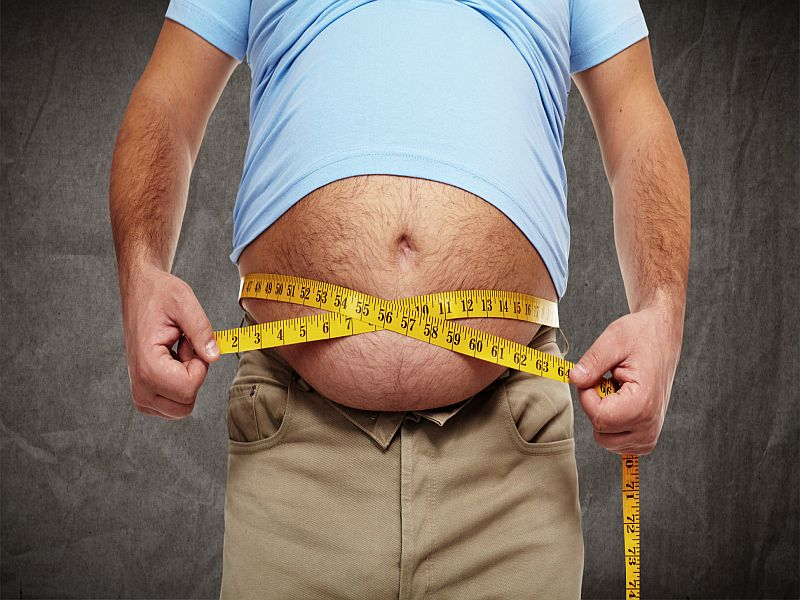 A Stressed Life May Mean a Wider Waistline