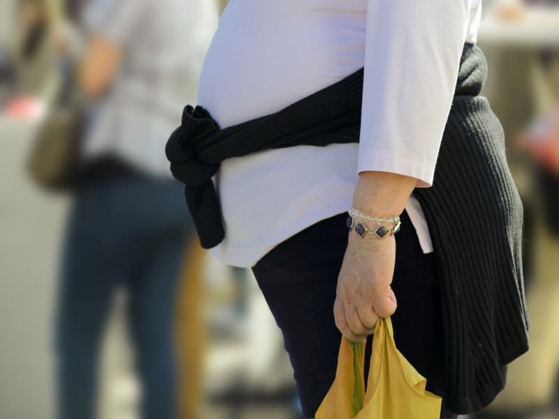 Central Adiposity More Harmful Than Obesity in Older Women