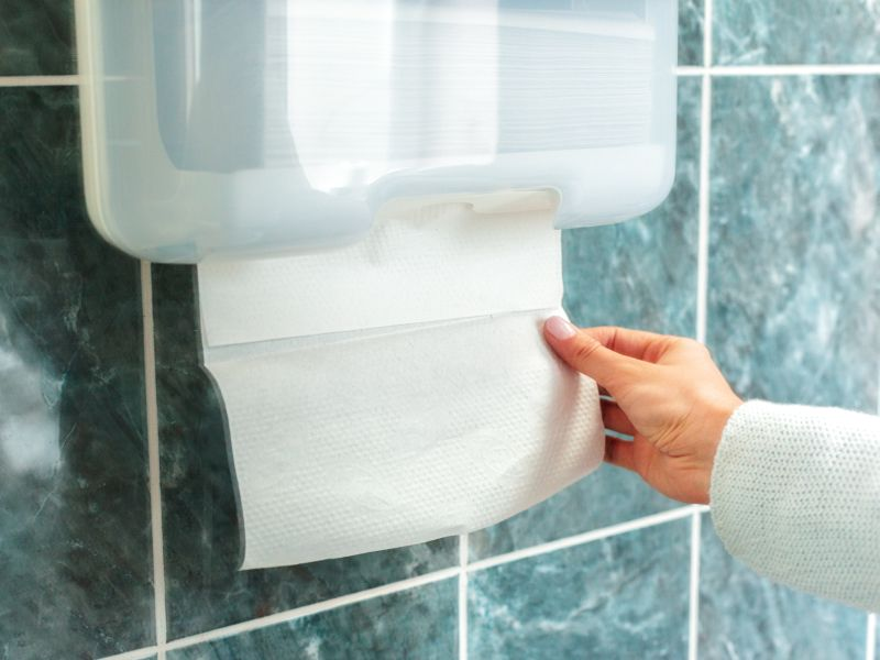 Paper Towels Beat Air Dryers Against Viruses, Small Study Finds
