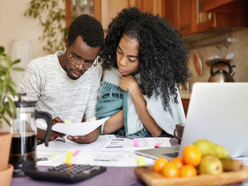Money Woes May Take Toll on Black Americans' Hearts