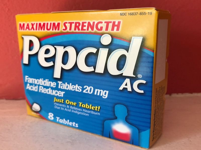 Could Heartburn Med Pepcid Ease COVID-19 Symptoms?