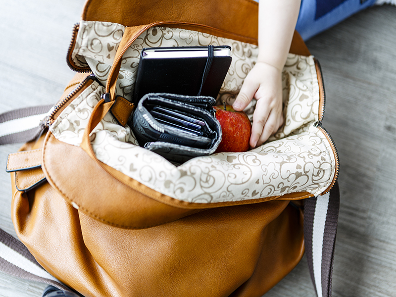 Mom's Purse May Hold Hidden Dangers for Kids